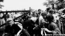 Sopron Massenflucht der DDR Bürger nach Österreich 19.08.1989