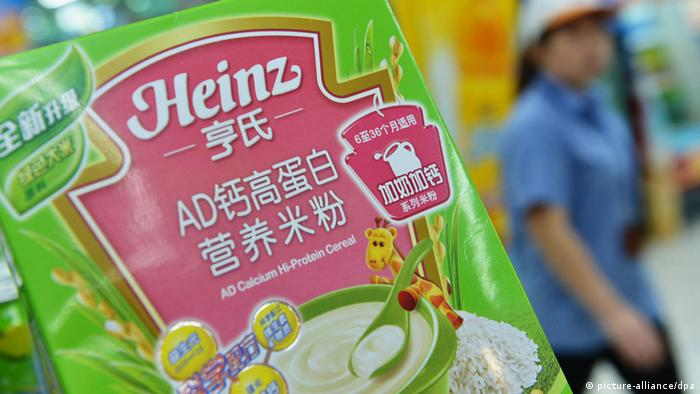 Lebensmittelskandal China Heinz AD Calcium Hi-Protein Cereal