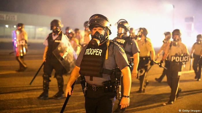 Police in Ferguson Photo by Scott Olson/Getty Images