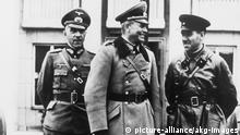 Guderian und Kriwoschein 2. Weltkrieg 1939