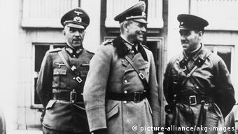 Гудеріан і Кривошеїн у Бресті-Литовському. 1939 рік