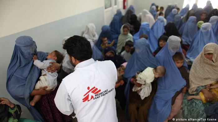 Symbolbild Afghanistan Humanitäre Hilfe MSF Ärzte ohne Grenzen