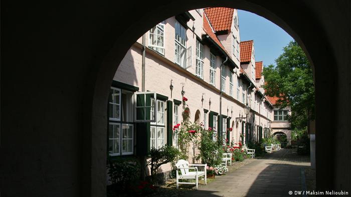 Подворье Фюхтингсхоф в Любеке (Füchtingshof)