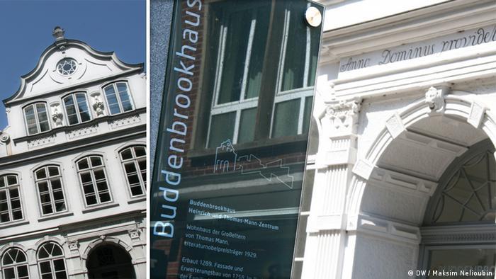 Дом Будденброков расположен по адресу Mengstraße 4, 23552 Lübeck