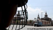 Indischer Soldat in Kaschmir 02.08.2014