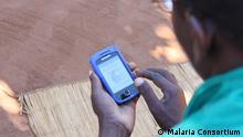 Nutzung von Handy-Anwendung gegen Malaria