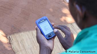 Handy-App gegen Malaria EINSCHRÄNKUNG