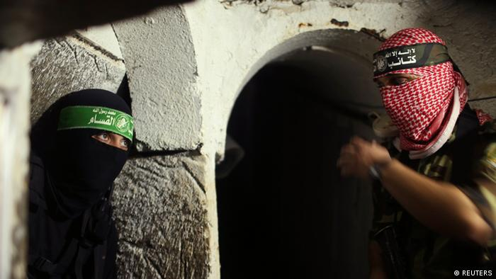 Nahostkonflikt Palästina Israel Hamas Tunnel 18.8.2014