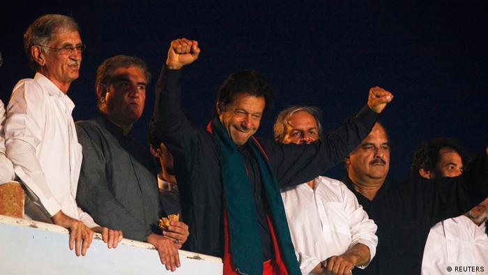 Imran Khan Parteivorsitzender PTI Pakistan