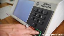 Eine Wahlurne in Brasilien. Copyright: EBC/Agência Brasil