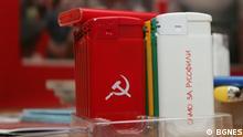 Bulgarische Produkte mit prorussischer Werbung
