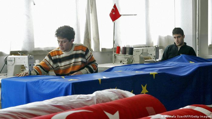 Türkei Textilfabrik Archiv 2004