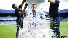 Rio Ferdinand of QPR takes Part in The Ice Bucket Challenge in AID of Engine Neurons disease BPI_JG_QPR_Training_0987 jpg PUBLICATIONxNOTxINxUKxFRAxNEDxESPxSWExPOLxCHNxJPN