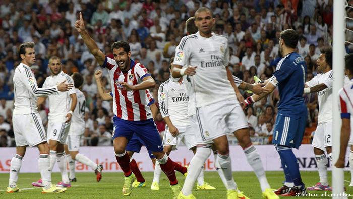 Fußball Spanien Supercup Real Madrid Atletico Madrid