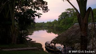 Photo: view with river (Photo: WWF/Dirk Embert)