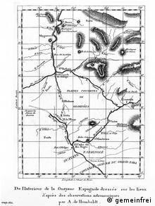 map (Drawing: public domain)