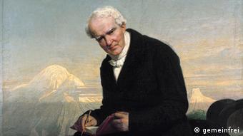 painted portrait of Alexander von Humboldt (Portrait: public domain)
