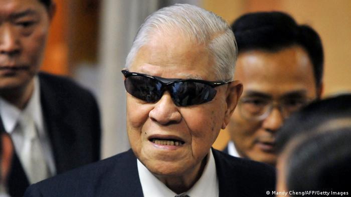 Taiwan Gericht Urteil Ex-Präsident Lee Teng-hui (Mandy Cheng/AFP/Getty Images)