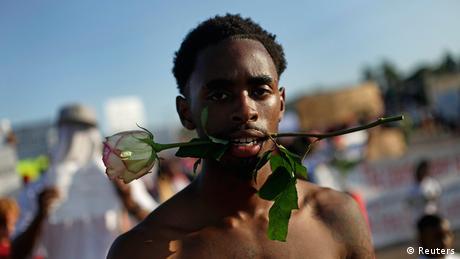 USA Proteste in Ferguson 19.08.2014