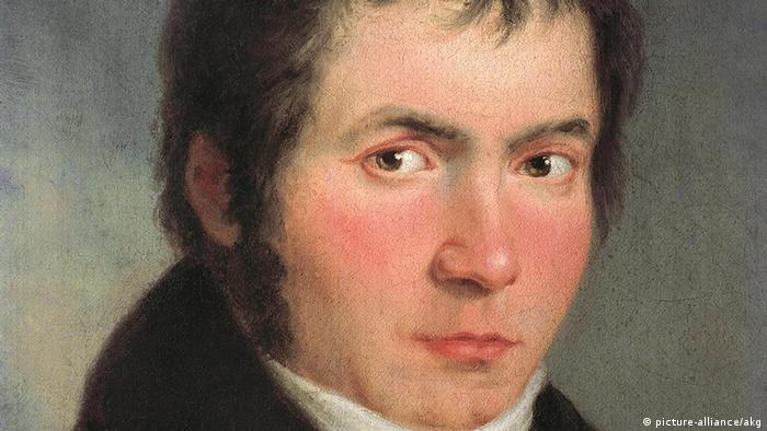 1804 portrait of Beethoven by Willibrord Joseph Mahler, Copright: picture-alliance/akg