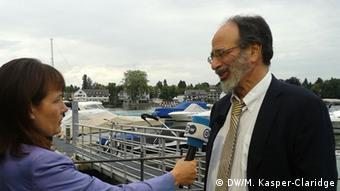 Alvin Roth, Nobel prize winning economist, interviewed by DW