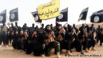 Propaganda-Aufnahme des Islamischen Staates (Foto: dpa)