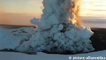 Vulkanausbruch auf Island