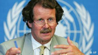 Austria's Manfred Nowak, the UN's Special Rapporteur on torture