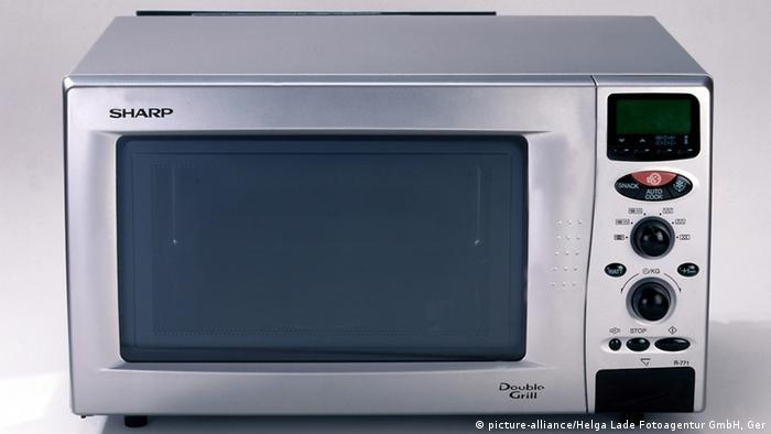 تسخين الطعام الميكروويف فعلاً؟