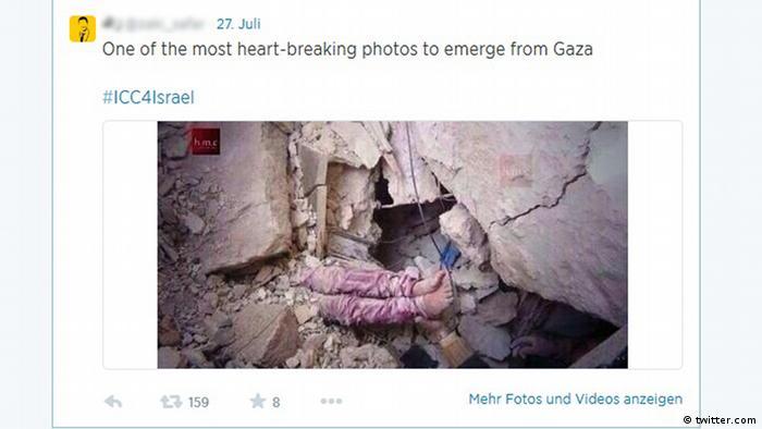 Gaza-Krieg: Bilder, die lügen (Bildergalerie)