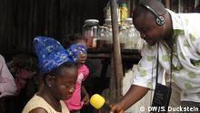 Jefferson Massa, Journalist von Radio Gbarnga/ Liberia NEU