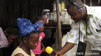 Jefferson Massa, Journalist von Radio Gbarnga/ Liberia NEU