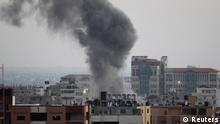 Raketenangriff auf Gaza Israel 20.08.2014