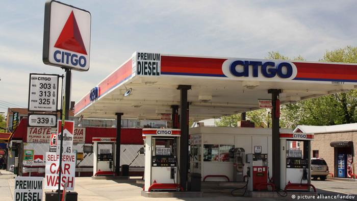A Citgo gas station in Queens, New York