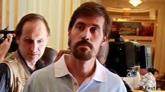 جیمز فولی٬ خبرنگار آمریکایی که توسط اسلامگرایان داعش به قتل رسید