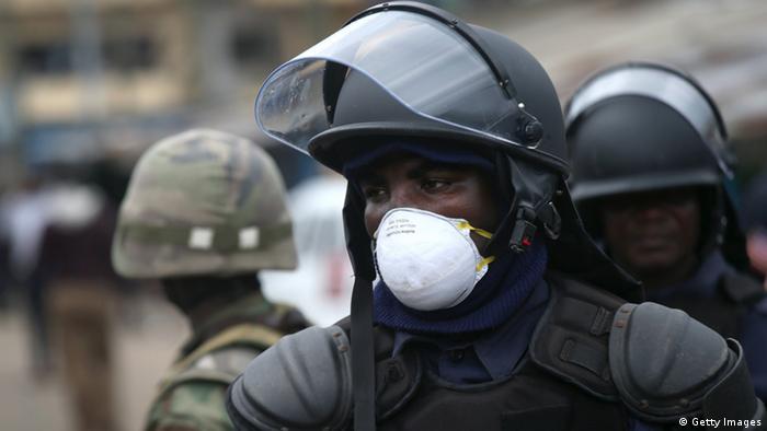 Liberia Ebola (Bildergalerie)