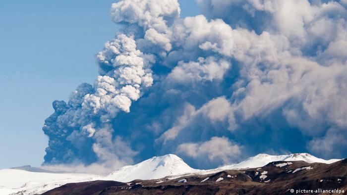 Der Vulkan Bardarbunga (Foto: EPA/ S. Olafs)