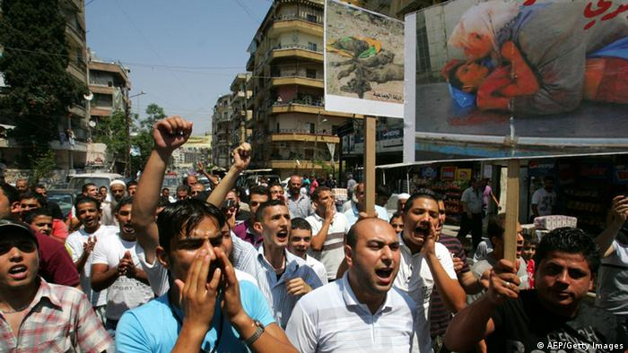 Syrien Libanon Proteste 15. Juli 2011