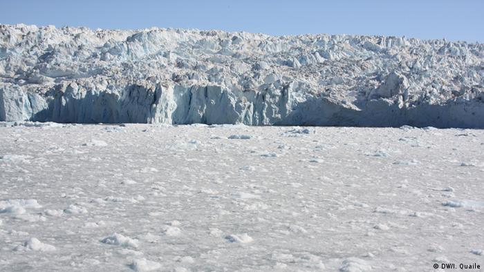 Equi-Fjord, Greenland, melting ice