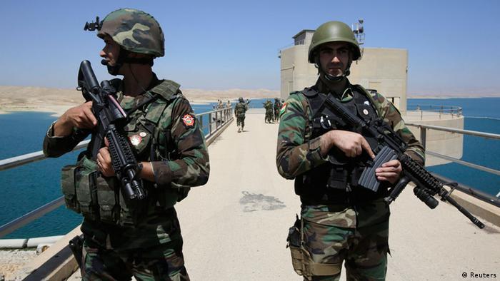 نیروهای کرد با کمک نیروی هوایی آمریکا موفق شدند سد موصل را بازپس گیرند