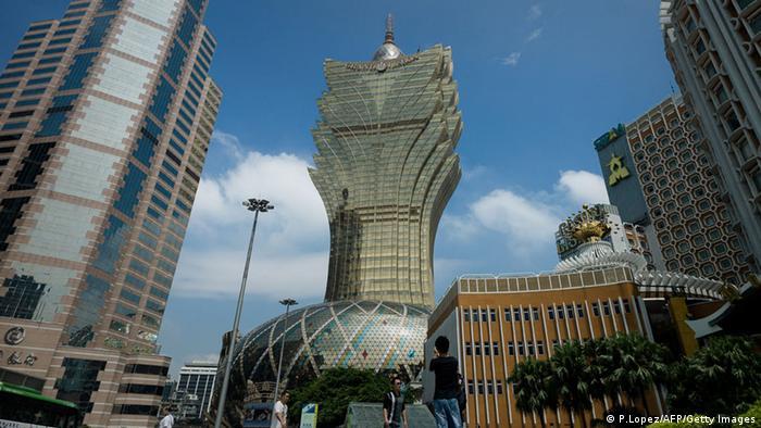 Macau Strassenszene (P.Lopez/AFP/Getty Images)
