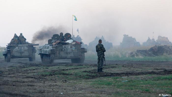 Поблизу Луганська