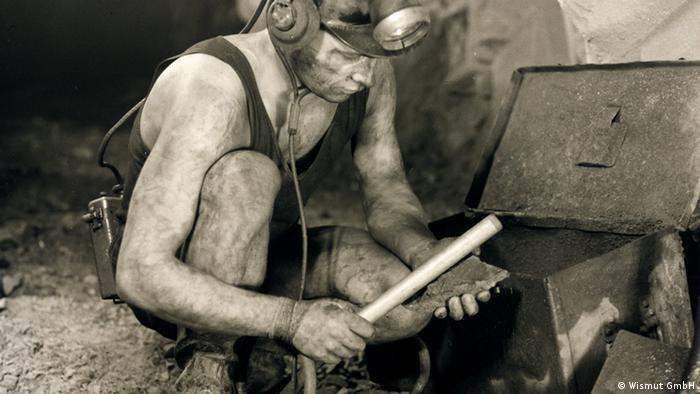 miner Photo: Wismut GmbH