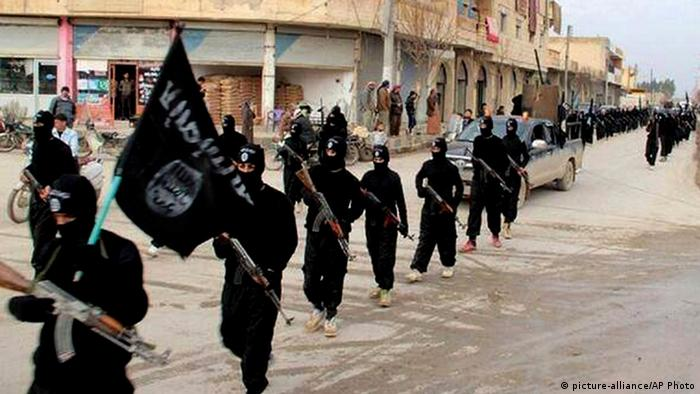 IS-Mitglieder in Syrien - Foto: AP