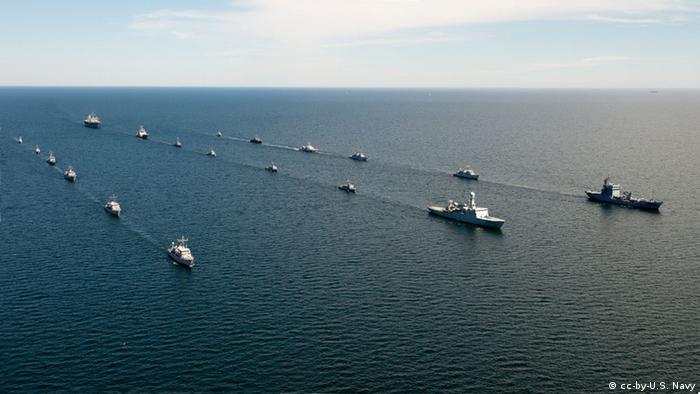 Корабли НАТО в Балтийском море (Фото из архива)