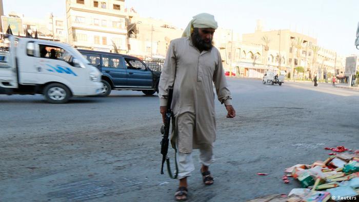 Irak islamischer Staat Kämpfer