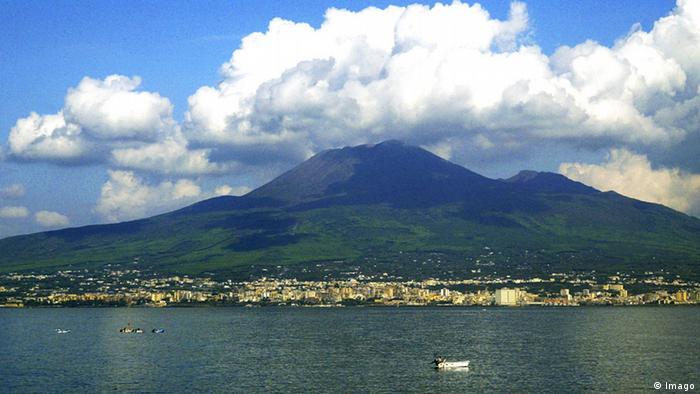 Italien Vulkan Vesuv