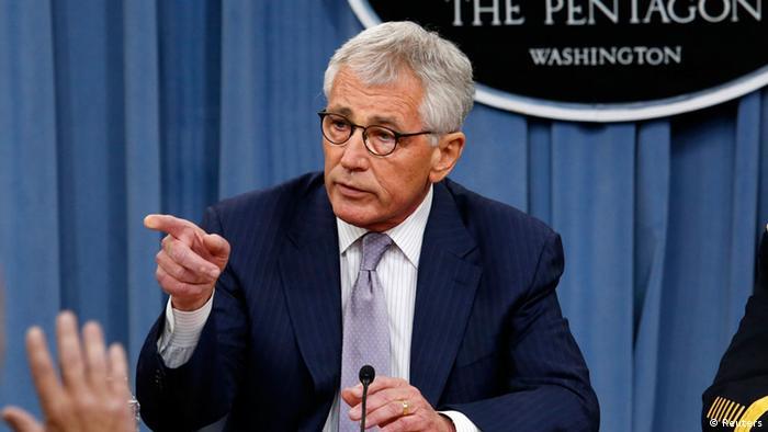 Chuck Hagel, secretário de Defesa dos EUA