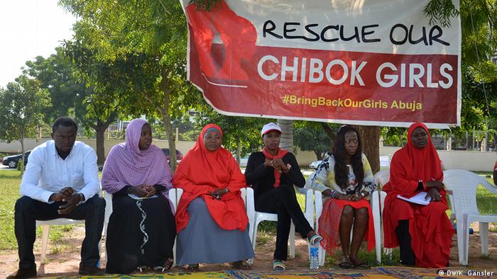 Members of Nigeria's Bringbackourgirls campaign