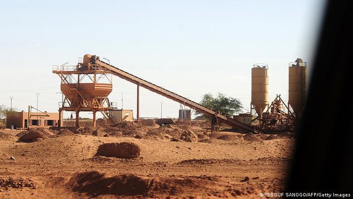 Niger Uranabbau Areva Uranmine in Arlit
